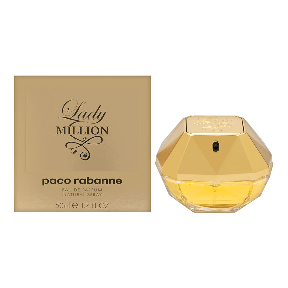 buy lady million by paco rabanne online. Black Bedroom Furniture Sets. Home Design Ideas