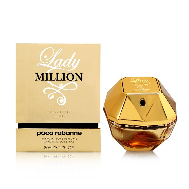lady million absolutely gold paco rabanne prices. Black Bedroom Furniture Sets. Home Design Ideas