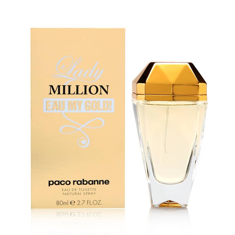 buy lady million eau my gold by paco rabanne online