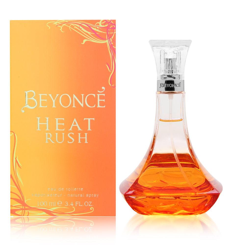 Detalles de Beyonce Heat Rush por Beyonce para mujeres 3.4 onzas EDT SPRAY NUEVO ver título original