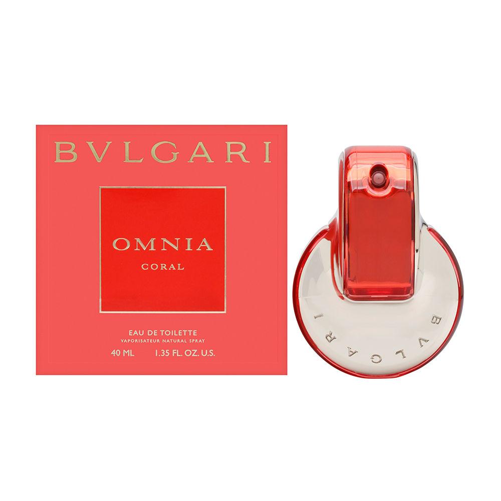 Detalles de Omnia Coral por Bvlgari para mujeres 1.35 Oz Eau De Toilette Spray Nuevo ver título original